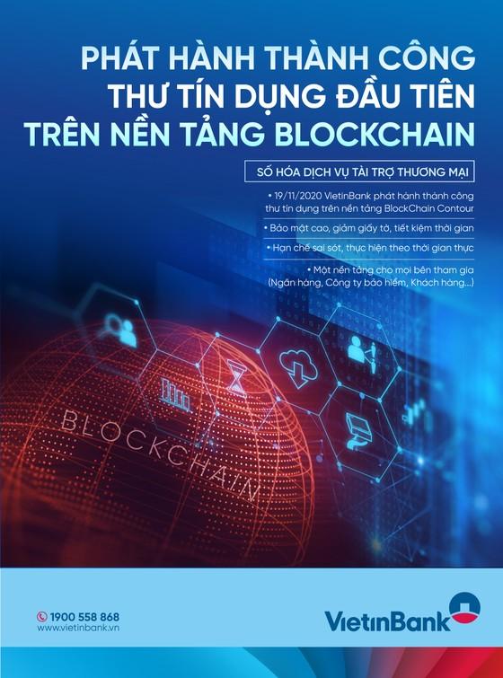 VietinBank phát hành thành công L/C đầu tiên ứng dụng công nghệ Blockchain ảnh 1