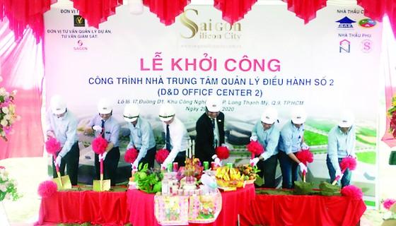 SAIGON SILICON CITY (SSC) khởi công công trình: Nhà Trung tâm Quản lý Điều hành số 2 thuộc dự án 'Xây dựng và Phát triển Khu Công viên Sài Gòn Silicon' ảnh 1