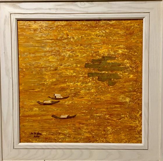 Triển lãm tranh của họa sĩ Ngô Thành Nhân tại Peony & Iris Art Gallery ảnh 3