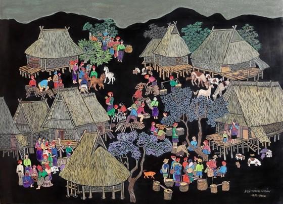 Triển lãm tranh của họa sĩ Ngô Thành Nhân tại Peony & Iris Art Gallery ảnh 2
