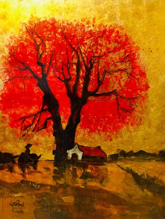 Triển lãm tranh của họa sĩ Ngô Thành Nhân tại Peony & Iris Art Gallery ảnh 4