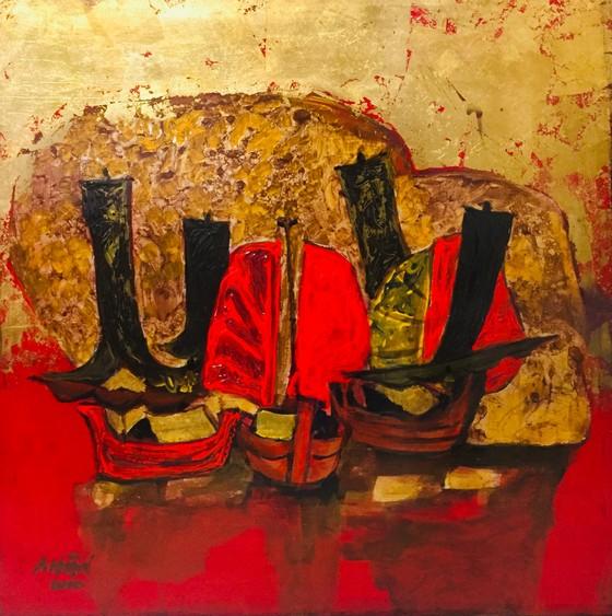 Triển lãm tranh của họa sĩ Ngô Thành Nhân tại Peony & Iris Art Gallery ảnh 1