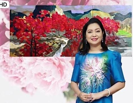 Triển lãm tranh của họa sĩ Ngô Thành Nhân tại Peony & Iris Art Gallery ảnh 6