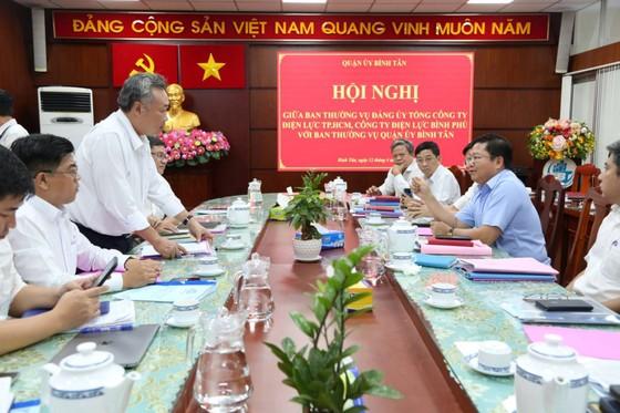 Tăng cường đầu tư xây dựng lưới điện tại quận Bình Tân, huyện Cần Giờ ảnh 1