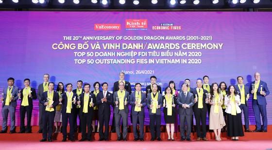 Vedan Việt Nam đón nhận giải thưởng Rồng Vàng 2020 ảnh 1
