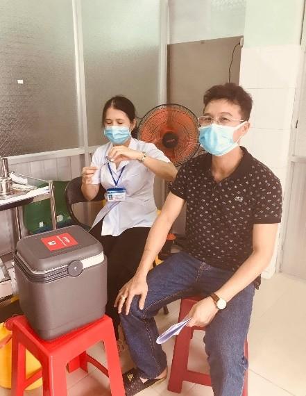PVFCCo triển khai tiêm vaccine Covid-19 cho người lao động ảnh 2