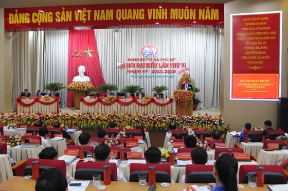 Khai mạc Đại hội đại biểu điểm Đảng bộ thị xã Phú Mỹ ảnh 1