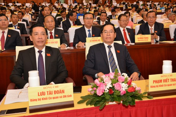 Khai mạc Đại hội Đảng bộ tỉnh Bà Rịa – Vũng Tàu lần thứ VII ảnh 3