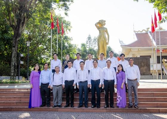 Trưởng Ban Tuyên giáo Trung ương Võ Văn Thưởng dự Ngày hội Đại đoàn kết toàn dân tộc tại Bà Rịa-Vũng Tàu ảnh 2