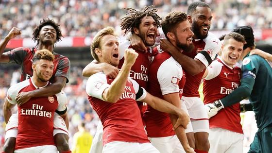 Arsenal - Chelsea 1-1 (luân lưu 4-1): Thất vọng nhà vô địch ảnh 1