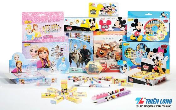Mùa tựu trường 2017-2018: Thiên Long tung sản phẩm mới sử dụng hình ảnh Disney ảnh 2