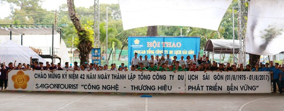 Hội thao công nhân viên chức - Lao động Tổng Công ty Du lịch Sài Gòn (Saigontourist) Lần VI - Năm 2017 ảnh 1