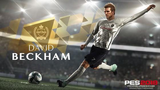 PES 2018: Beckham trở thành  huyền thoại  ảnh 1