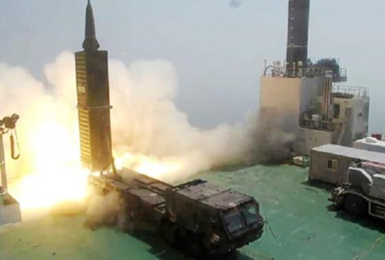 Hàn Quốc tập trận tên lửa đạn đạo sau vụ thử hạt nhân của Triều Tiên ảnh 1