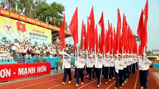 Nhiều địa phương đã tổ chức Đại hội cấp cơ sở để chuẩn bị cho Đại hội Thể dục thể thao toàn quốc 2018. Ảnh: MINH TUẤN