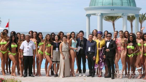 Ngắm dàn người đẹp Miss Grand International 2017 đầy quyến rũ trong phần thi áo tắm ảnh 1