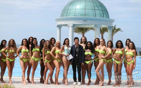 Ngắm dàn người đẹp Miss Grand International 2017 đầy quyến rũ trong phần thi áo tắm ảnh 5