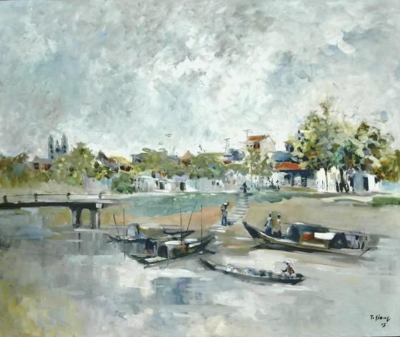 Triển lãm Qua miền Tây Bắc của NSND - họa sĩ Trà Giang: Không gian hiện tại và hồi ức ảnh 2