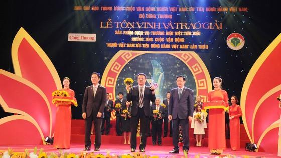 """PV GAS nhận Giải thưởng """"Top 10 Doanh nghiệp có dịch vụ Thương hiệu Việt xuất sắc"""" ảnh 1"""