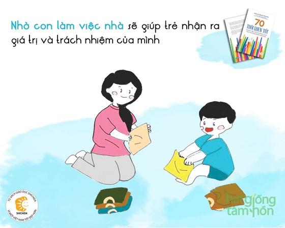 70 Thói quen tốt trong việc nuôi dưỡng con theo phương pháp Shichida ảnh 2