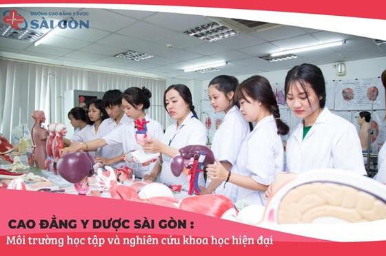 Trường Cao Đẳng Y Dược Sài Gòn đơn vị uy tín đào tạo nguồn nhân lực y tế trên địa bàn TPHCM  ảnh 2