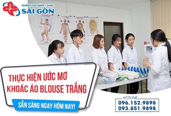 Trường Cao Đẳng Y Dược Sài Gòn đơn vị uy tín đào tạo nguồn nhân lực y tế trên địa bàn TPHCM  ảnh 4