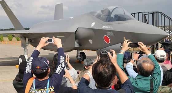 日製首架 F35 戰鬥機成功試飛 ảnh 1