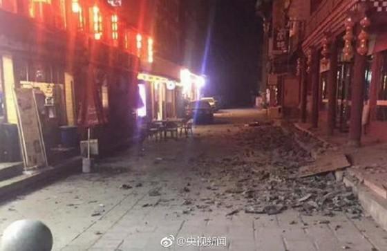 中國發生兩場強震致數百人傷亡 ảnh 2
