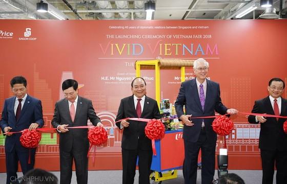 阮春福總理在新加坡出席第三十三屆東盟峰會 ảnh 1