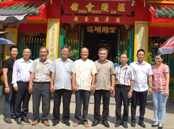 市民族處新主任黃文鴻玉拜訪各華人會館 ảnh 3