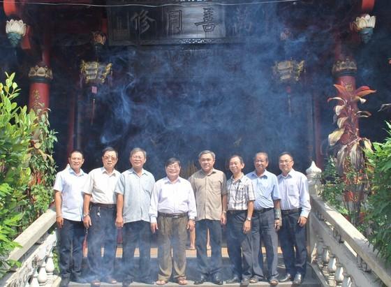 市民族處新主任黃文鴻玉拜訪各華人會館 ảnh 4