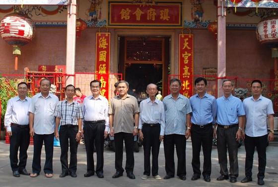 市民族處新主任黃文鴻玉拜訪各華人會館 ảnh 1