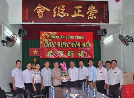 市民族處新主任黃文鴻玉拜訪各華人會館 ảnh 2