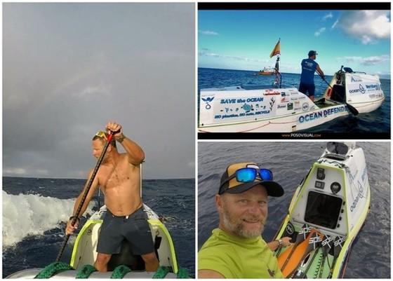 男子歷經 76 日從三藩市獨划立槳艇抵夏威夷 ảnh 1