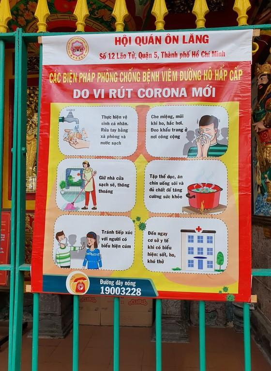 防控新型冠狀病毒疫情  各華人會館做好防範工作 ảnh 1
