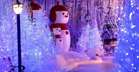 到西貢盡情玩「雪」其樂融融 ảnh 2