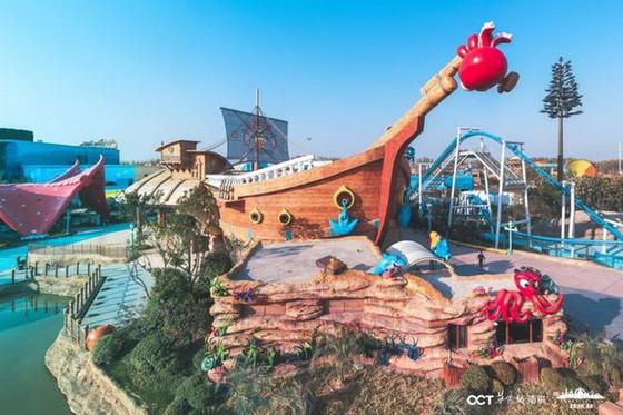 中國南京歡樂谷帶著世界頂級過山車 ảnh 1