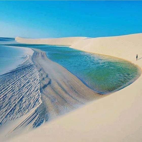 """巴西仙境""""千湖沙漠"""" ảnh 2"""