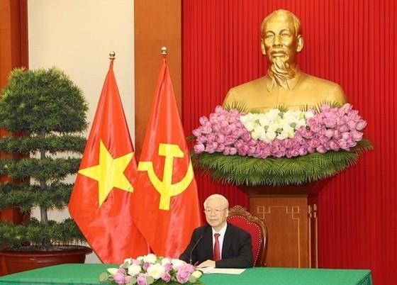 阮富仲總書記出席中共與世界政黨領導人峰會 ảnh 1