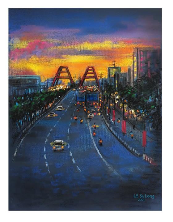 畫家黎沙龍:西貢隔離時 ảnh 10