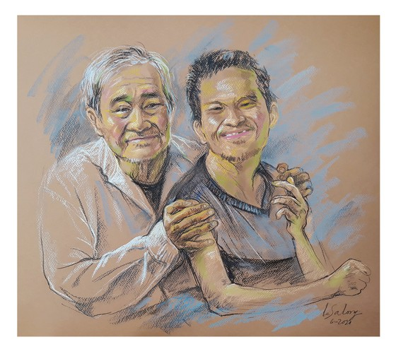 畫家黎沙龍:西貢隔離時 ảnh 8