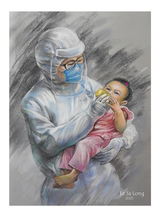 畫家黎沙龍:西貢隔離時 ảnh 1