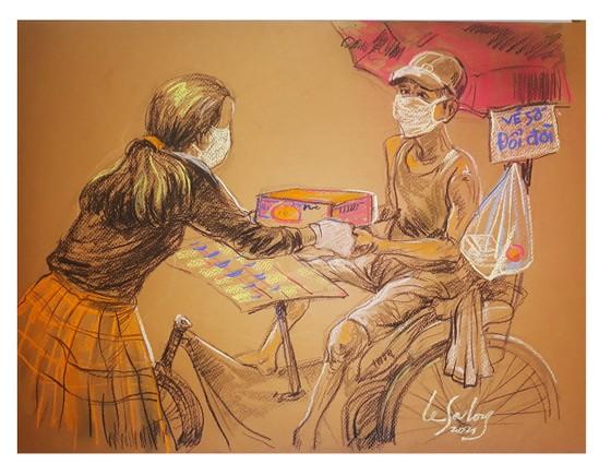 畫家黎沙龍:西貢隔離時 ảnh 4