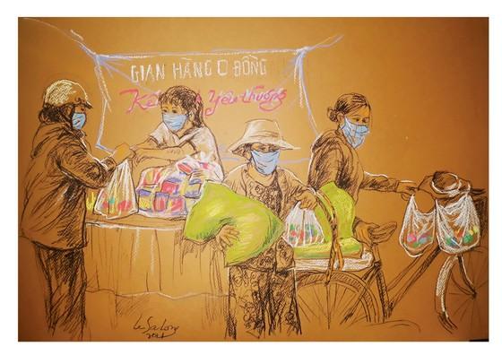 畫家黎沙龍:西貢隔離時 ảnh 3