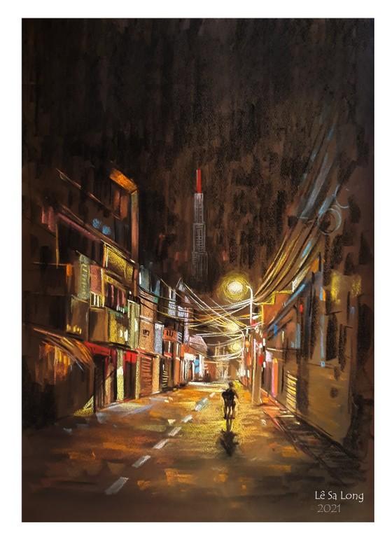 畫家黎沙龍:西貢隔離時 ảnh 12
