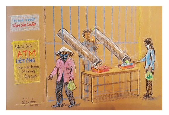畫家黎沙龍:西貢隔離時 ảnh 5