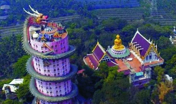 泰國的粉紅龍廟 ảnh 1