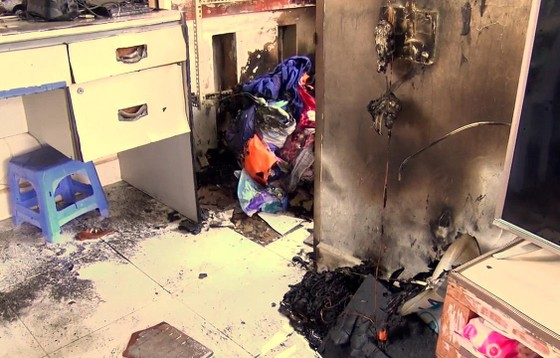 Cháy trường mầm non, trên 100 trẻ sơ tán khẩn cấp ảnh 3