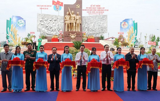 Kỷ niệm 90 năm Ngày thành lập Chi bộ An Nam Cộng sản Đảng Cờ Đỏ ảnh 2