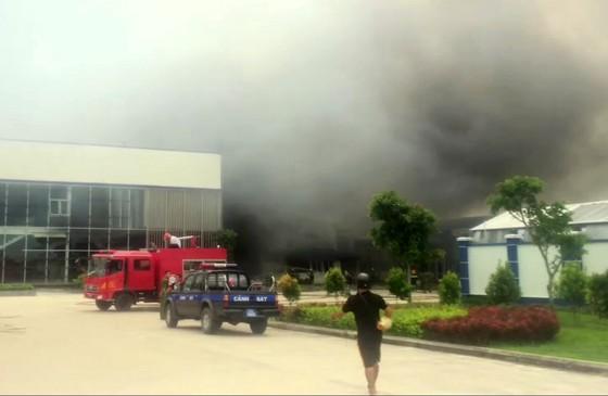 Cháy lớn tại Công ty may Nhà Bè Sóc Trăng ảnh 2
